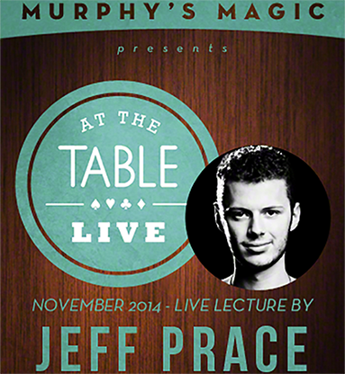 At The Table Live Lecture - Jeff Prace