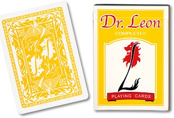 Dr. Leon Playing Cards (Yellow)