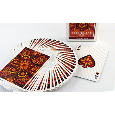Elemental FIre Playing Cards