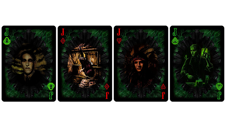 Unnameable Horrors Limited Edition Playing Cards
