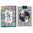 Puzzled Playing Cards