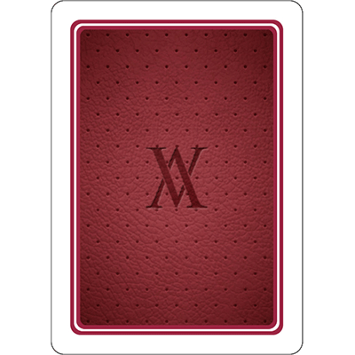 Red Verve Playing Cards