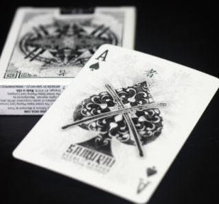 Samurai Playing Cards