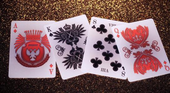 Heraldry Playing Cards - Sanquine