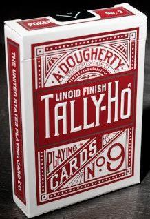 Tally-ho Playing Cards - Matallic