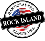 Handcrafted in rock island Illinois