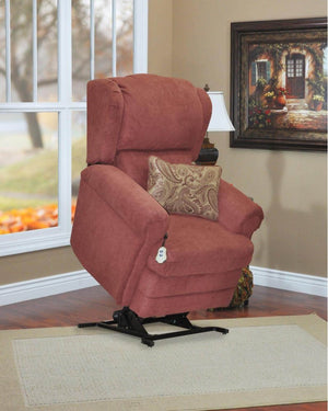 Wall-A-Way Recliner w/Decorative Pillow & Headrest