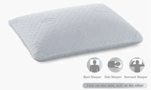Sleep to Go DuoCore Dual Comfort Pillow By Serta
