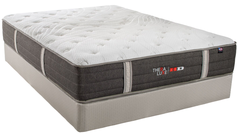 Therapedic Thera Luxe HD Jackson Plush Heavy Duty Mattress set