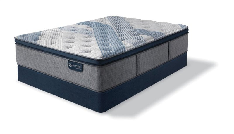 iComfort Hybrid Blue Fusion 1000 Plush Pillow Top