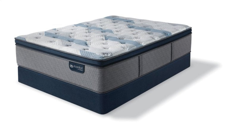 iComfort Hybrid Blue Fusion 300 Plush Pillow Top