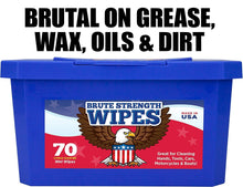 Industrial-Grade, No-Rinse Wet Wipes 140 Pack by Nova Supply. Cuts Grease From Hands, Tools and Work Surface Quickly- No Residue. Heavy Duty, Textured Shop Towels. Big, Citrus Scented Bucket of Rags