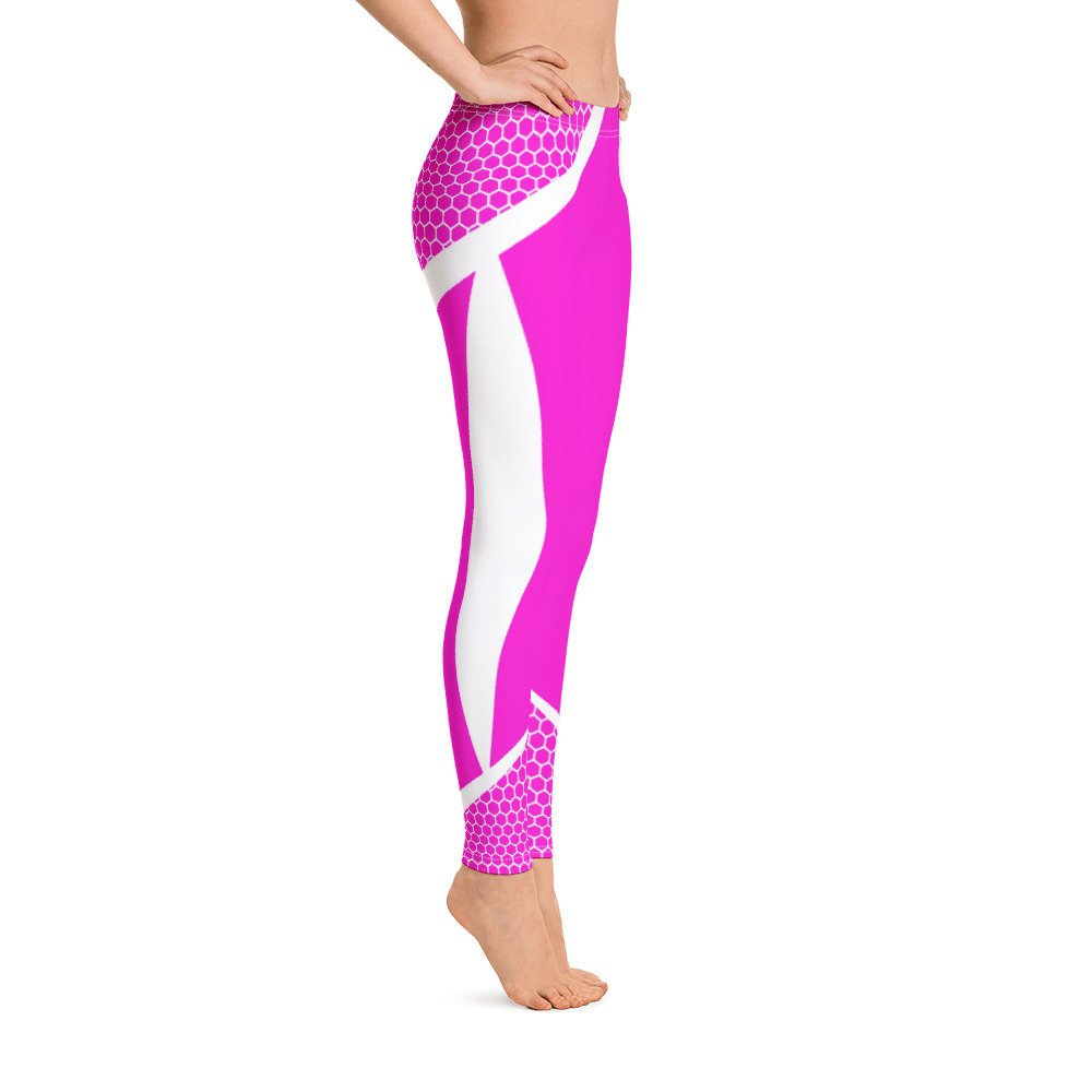 30297f5701aaa9 Leggings Pink Workout Pants Great For Fitness or Comfy Go To Yoga Pants -  WantedImage.