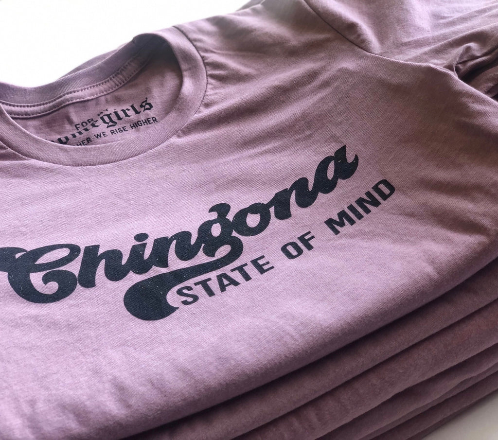 CHINGONA STATE OF MIND - Unisex Orchid Tee