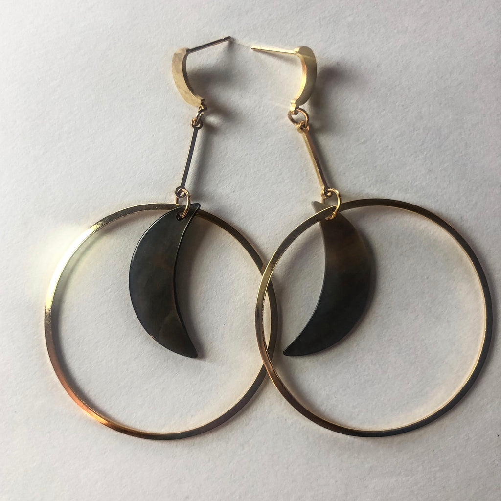 Pearlescent Luna Earrings