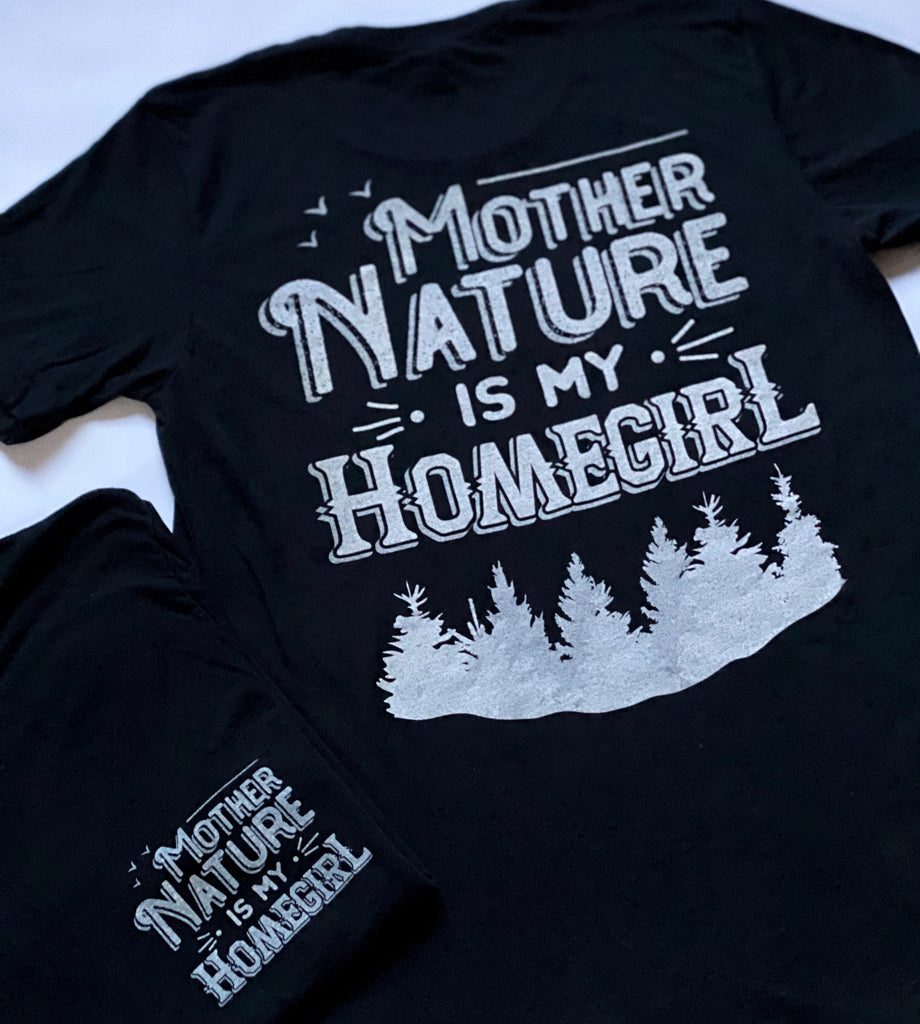 Black Mother Nature is My Homegirl II (Unisex Triblend T-Shirt)