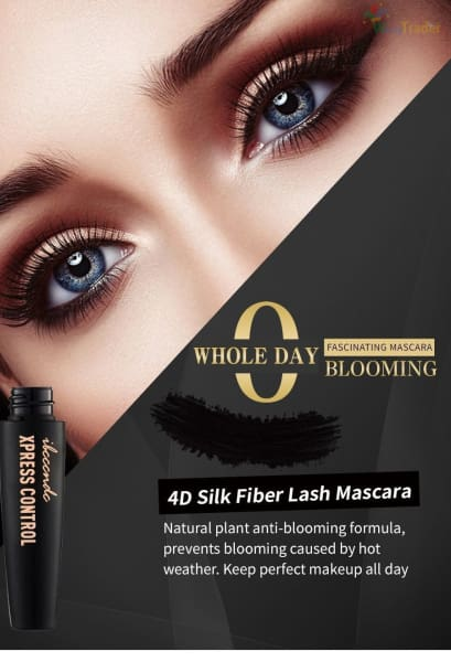 FREE 4D Silk Fiber Eyelash Mascara - Best Waterproof Mascara for Eyelash Lengthening in 2019 Best Mascara for Sensitive Eyes!