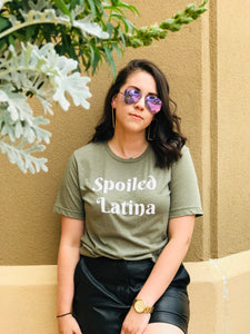 Spoiled Latina - Olive Green