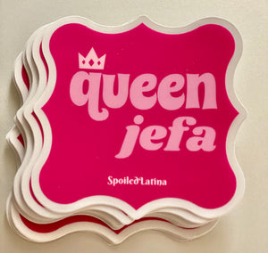 Queen Jefa sticker