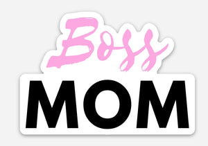 Boss Mom sticker
