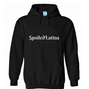 Spoiled Latina Hoodie Sweater - Black