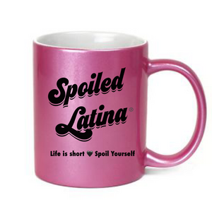 Pink Spoiled Latina Coffee Mug
