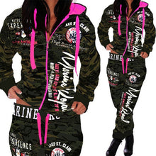 Load image into Gallery viewer, Stylish Camo Print Tracksuits | kindagoodgirlkindahood