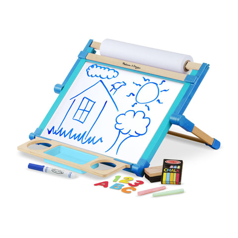 Melissa Doug Double-Sided Magnetic Tabletop Easel 2790