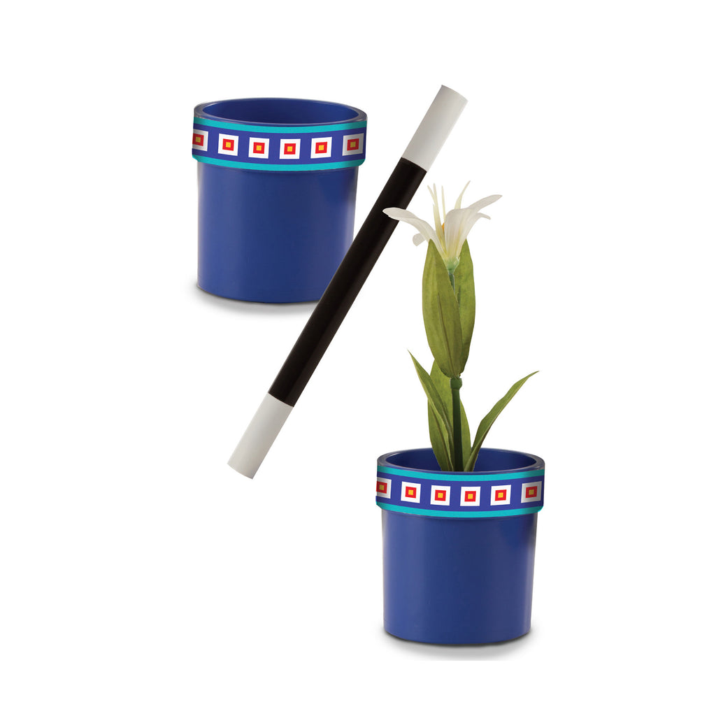 Melissa Doug Magic in a Snap Magic Flower Pot and Wand 4055