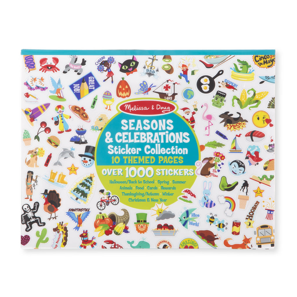 Melissa Doug Sticker Collection - Seasons & Celebrations 4215
