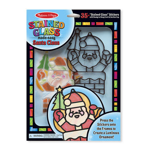 Melissa Doug Stained Glass Made Easy - Santa Claus 8584