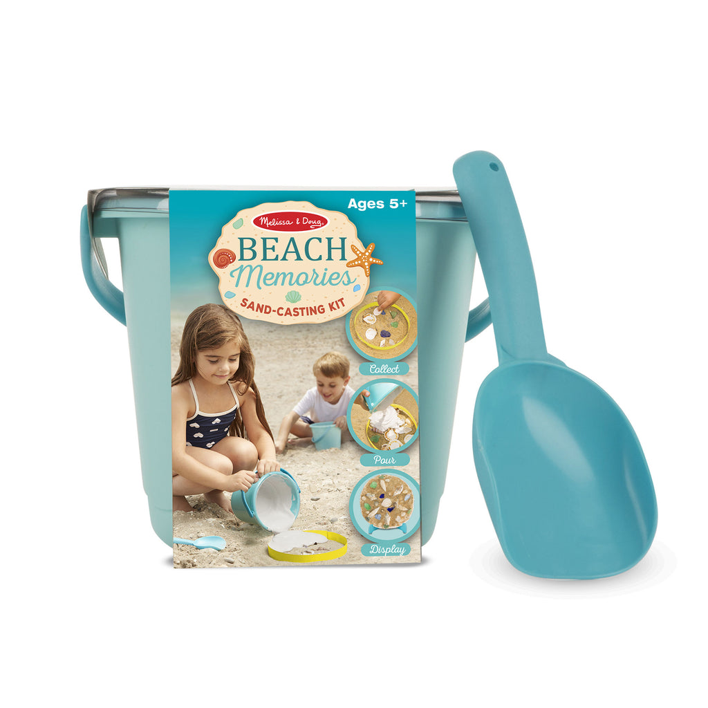 Melissa Doug Beach Memories Sand-Casting Kit 8948