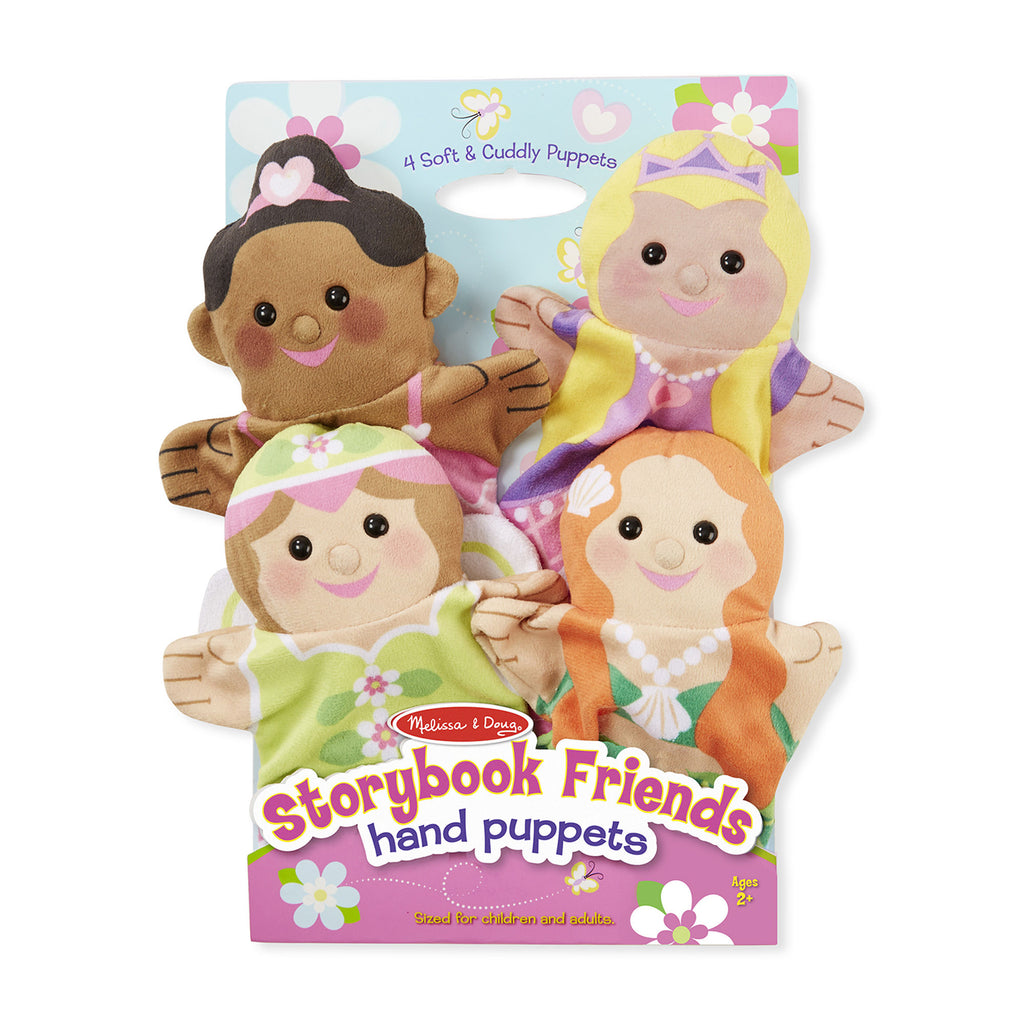 Melissa Doug Storybook Friends Hand Puppets 9083