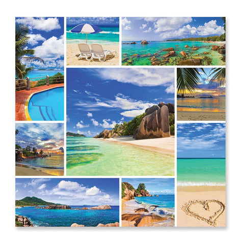 Image of Melissa And Doug Photos From Paradise Tropical Beaches Puzzle 1000pc