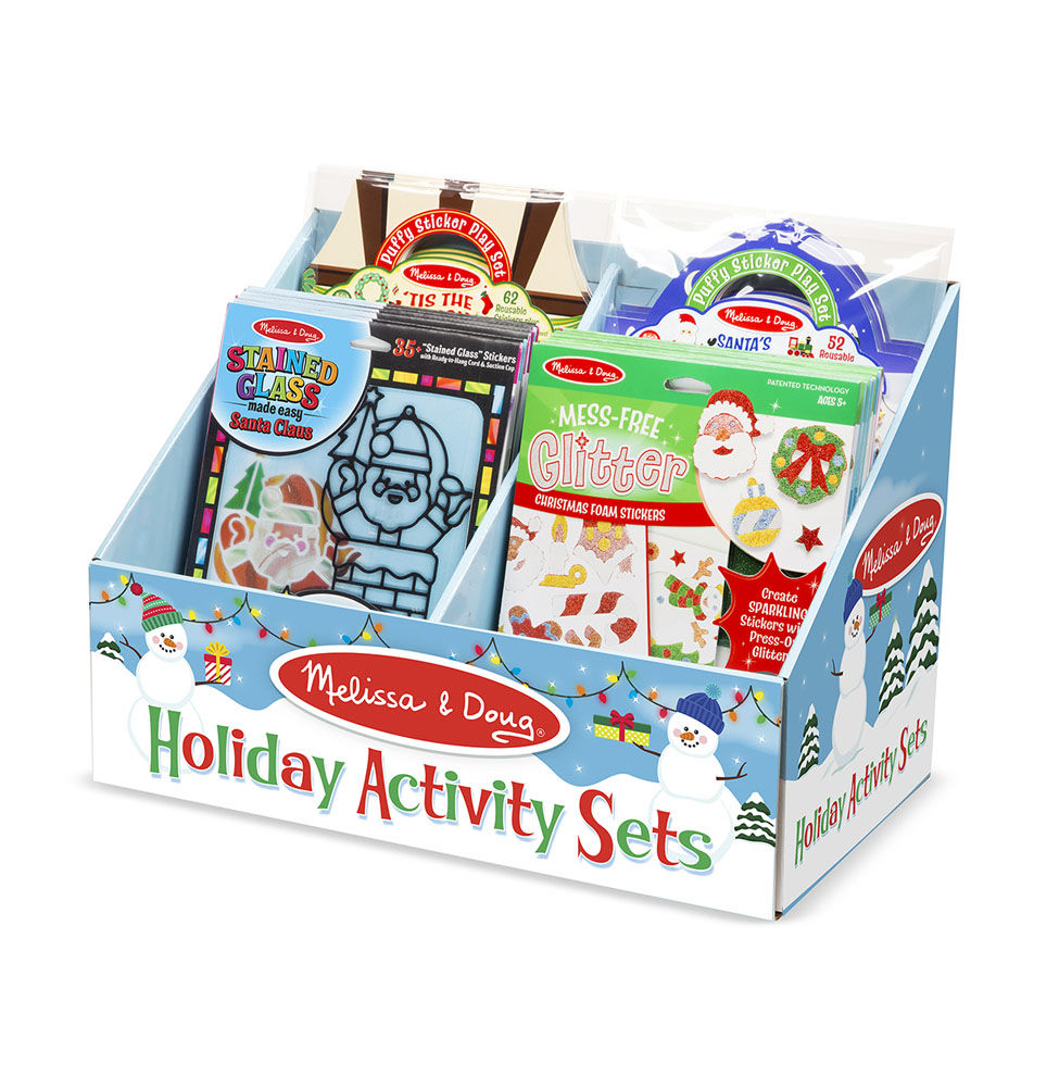 Melissa Doug Holiday Activity Sets Loaded Counter Display 9231