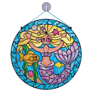 Melissa Doug Stained Glass - Mermaid 9292