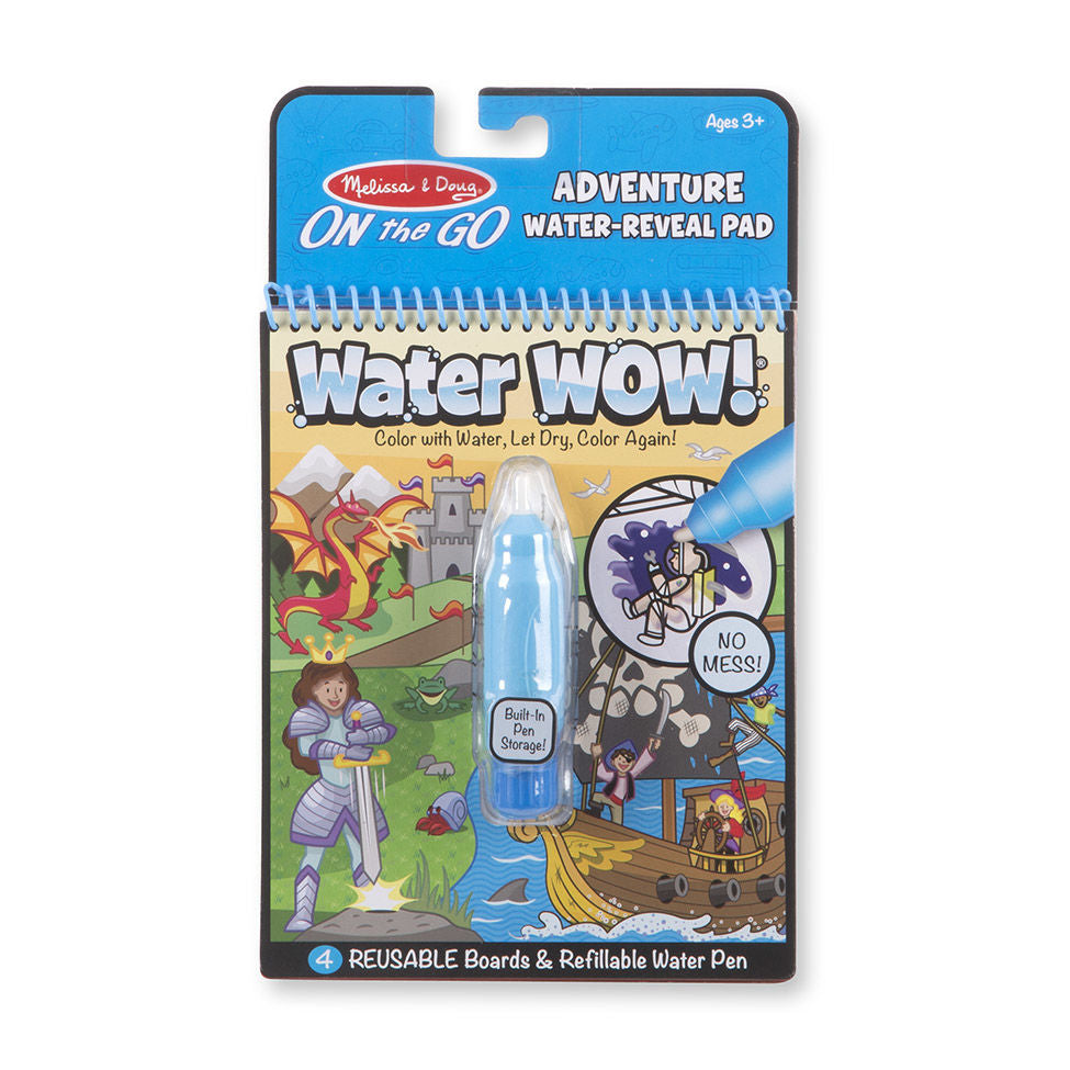 Melissa Doug Water Wow- Adventure 9317