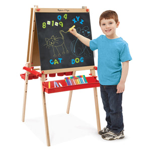 Melissa Doug Deluxe Easel / Magnetic Boards 9336
