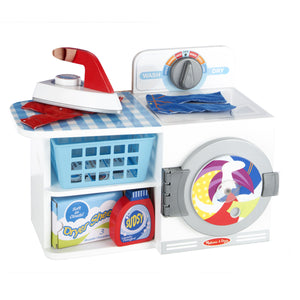 Melissa Doug Let's Play House! Wash, Dry & Iron 9352