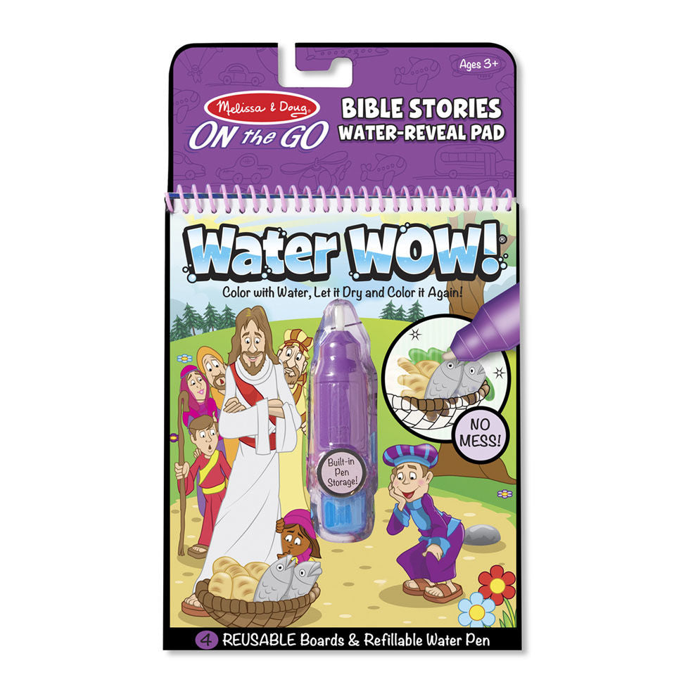 Melissa Doug Water Wow! - Bible Stories Water Reveal Pad 9405