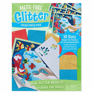 Melissa Doug Mess-Free Glitter Ocean Party Pack 30001