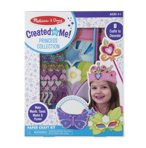 Melissa Doug Simply Crafty - Princess Collection 31607