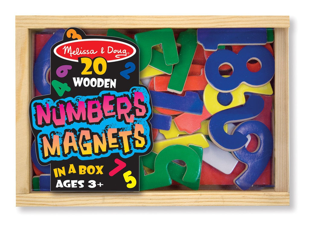 Melissa Doug Magnetic Wooden Numbers