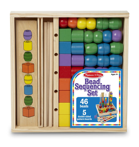 Image of Melissa Doug Bead Sequencing Set 570