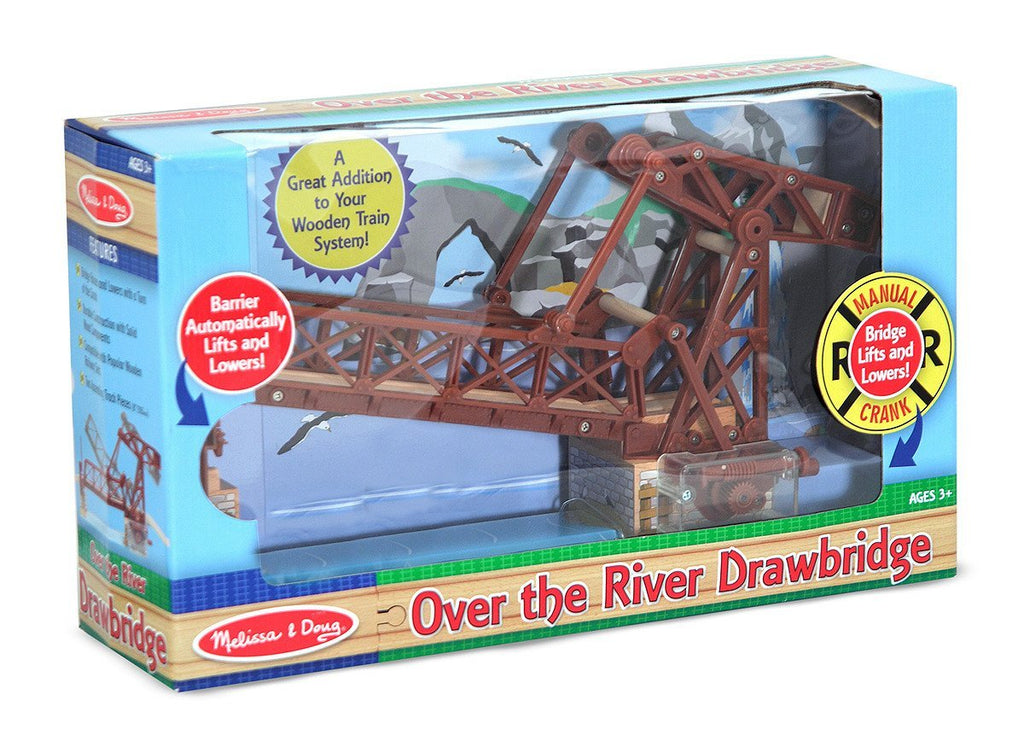 Melissa Doug Over the River Drawbridge 628