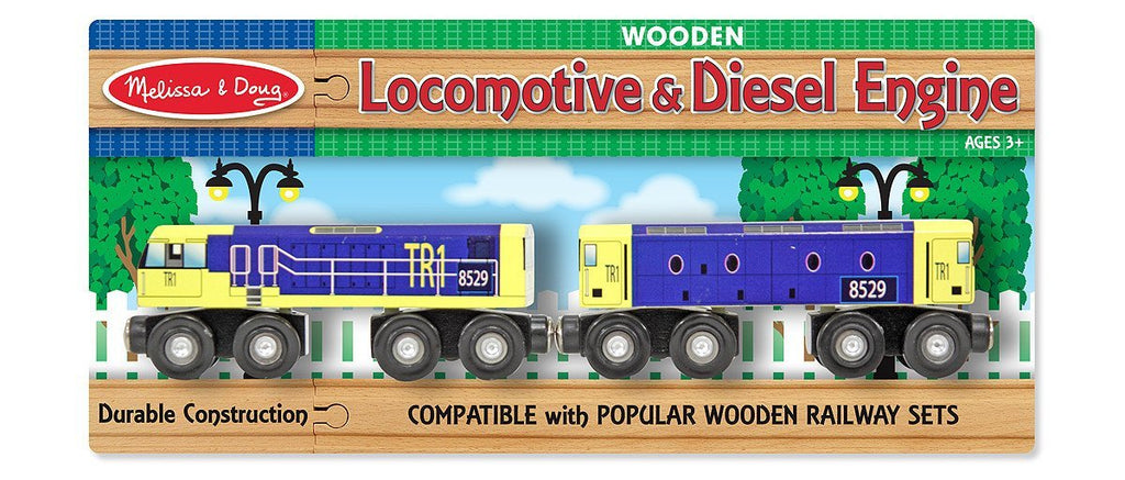 Melissa Doug Locomotive & Diesel Engine