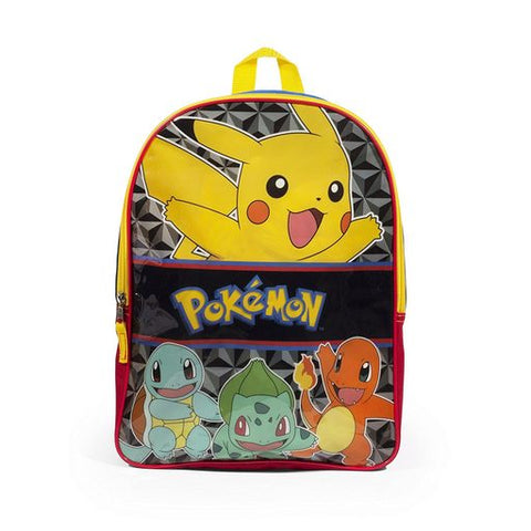 Image of Pokemon Pikachu 16 Inch Multi Colored Backpack