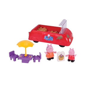 Peppa Pig Peppa Pig's Picnic Day Construction Set