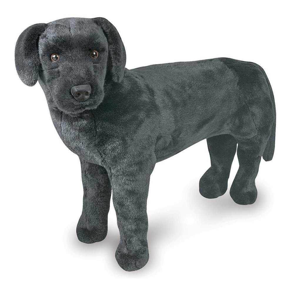 Melissa Doug Black Lab - Plush 2117