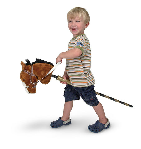 Image of Melissa Doug Gallop-n-Go Stick Pony 2176